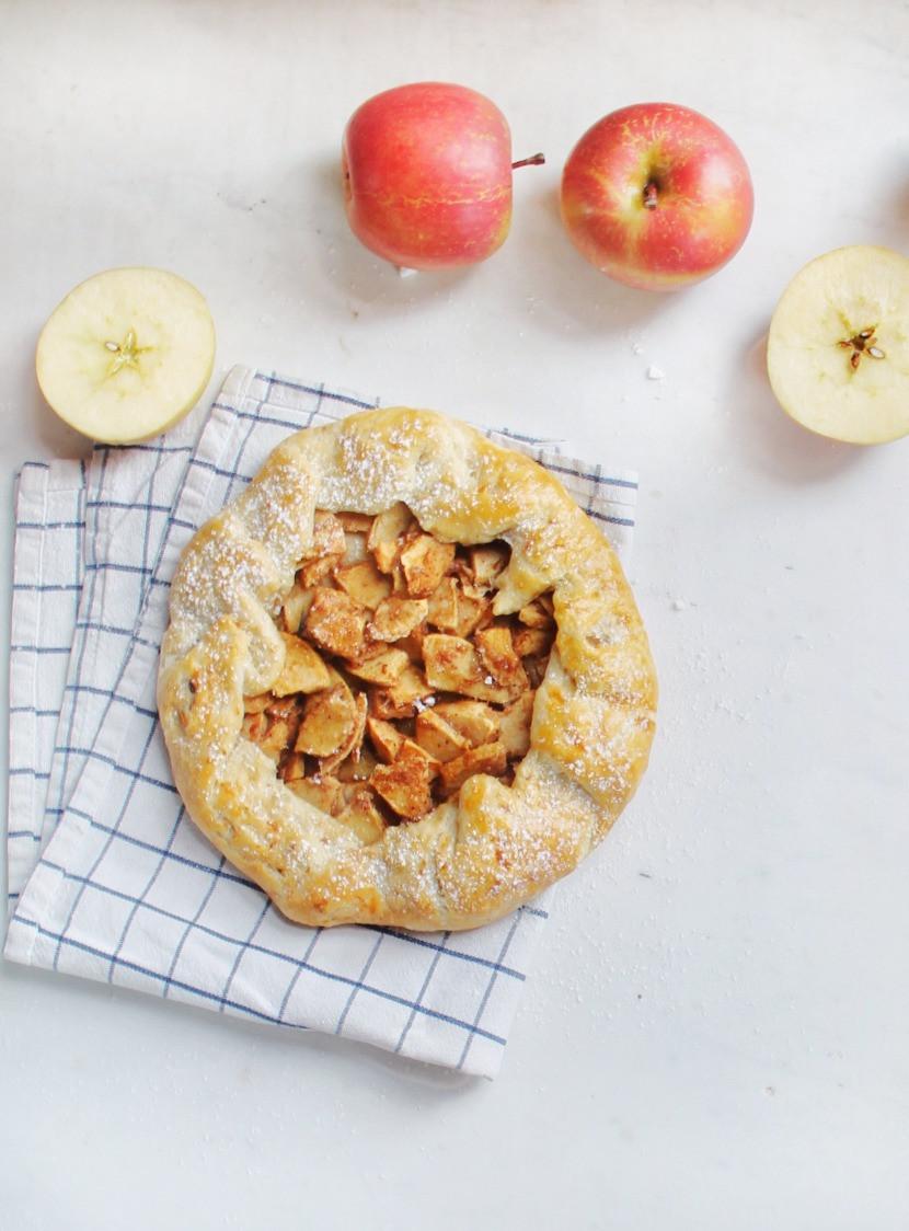 Rustic apple galette recipe