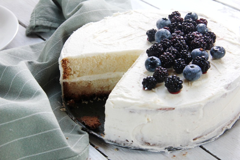 vanilla cream cake recipe