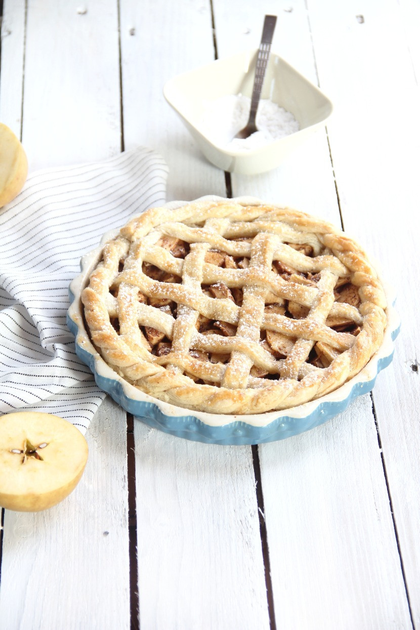 Traditional apple pie recipe
