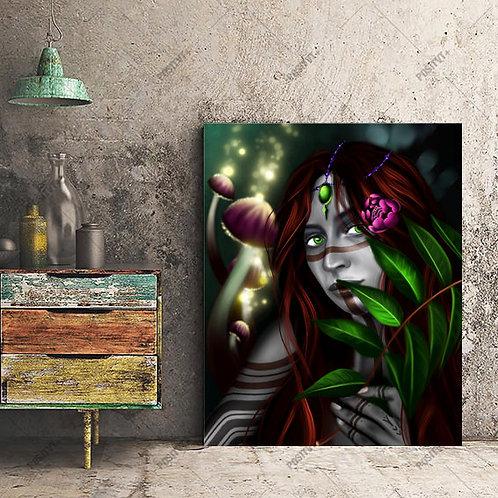 Psilocybin Fairy - Canvas