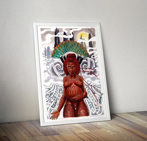 Papatuanuku - Giclee Print