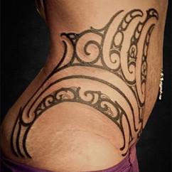 Ta Moko Feminine Tattoo | Ta Moko Gold Coast