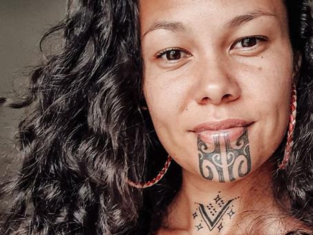 Female Maori Chin Markings
