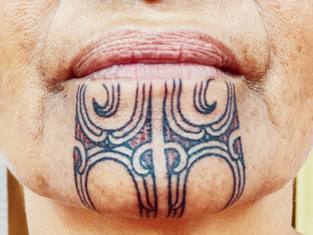 Moko Kauae - Maori Female Chin Tattoo