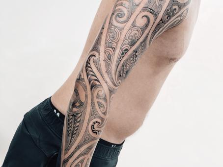 Full Sleeve Ta Moko - Maori Tattoo