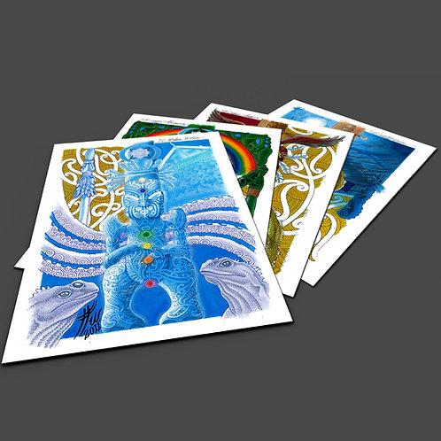 Whare Wananga Pack - A3 Prints x 9