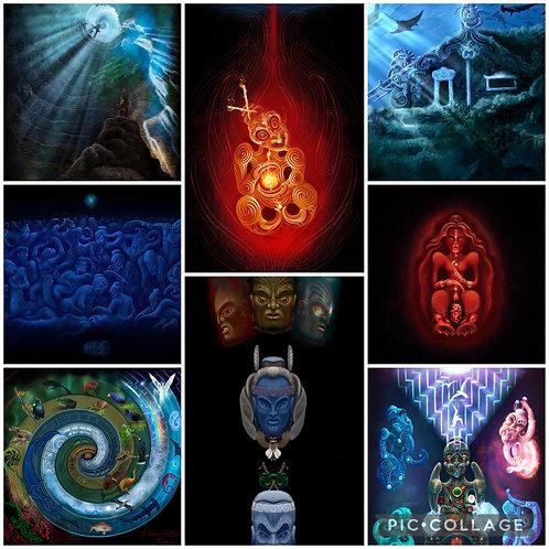 Mahi A Atua Pack - Canvas x 8