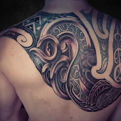 Ta Moko Manaia Maori Tattoo | Ta Moko Brisbane