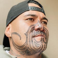 Mataora Maori Face Tattoo