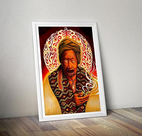 Mahuika - Giclee Print