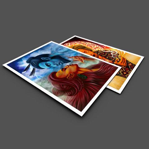 Atua Pack - A3 Prints x 2