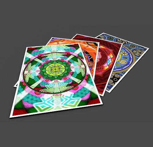 Chakra Pack - Prints x 5