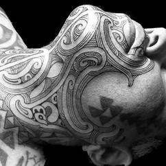 Ta Moko Neck Tattoo | Ta Moko Brisbane