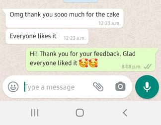 Customer's Feedback