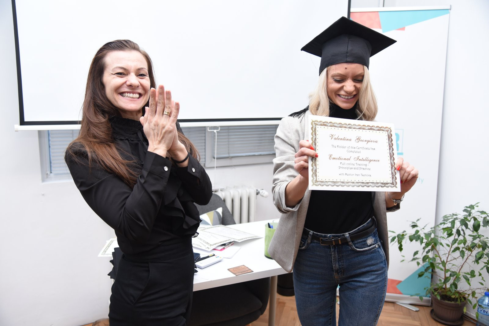 Iren Tsenova Certificate