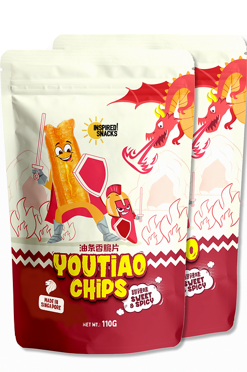 2 Sweet & Spicy You Tiao Chips