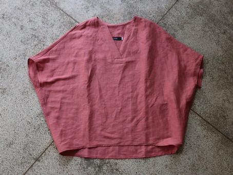 GROU ボックスシャツとスカート