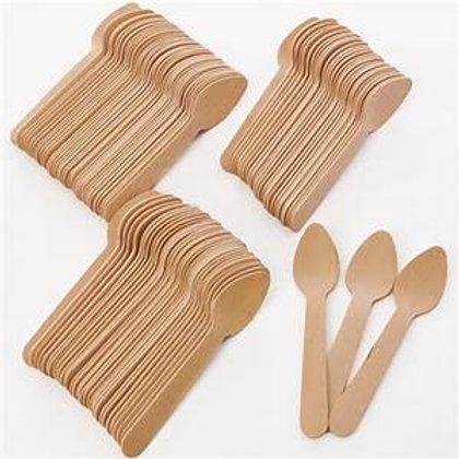 Tasting cucharas y tenedores