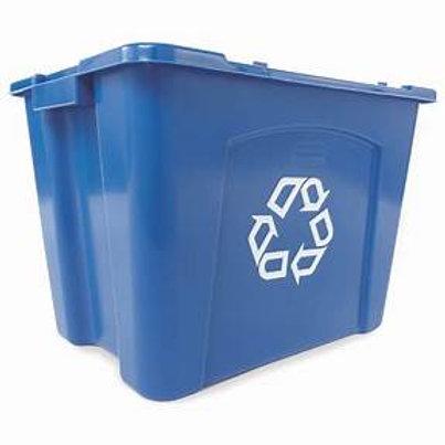 Contenedores de reciclaje para andenes