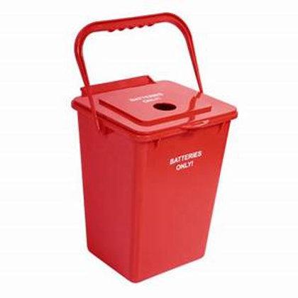 Contenedores para reciclaje de Pilas