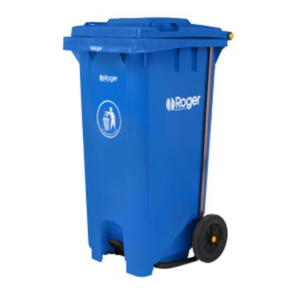 Contenedor  para residuos con pedal tipo U