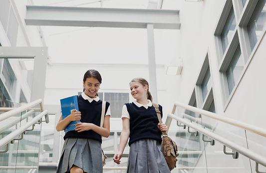 Girls in School Uniform