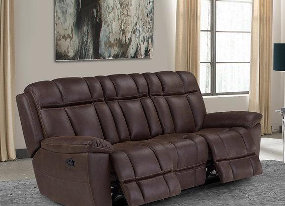 Goliath Reclining Sofa  - Arizona Brown