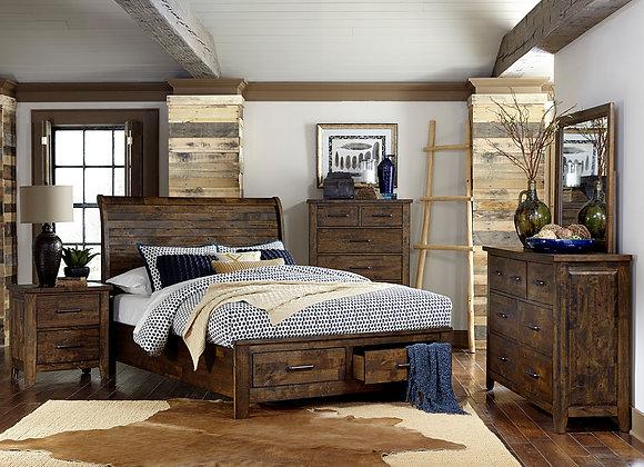 Jerrick Bedroom Collection - Rustic Brown