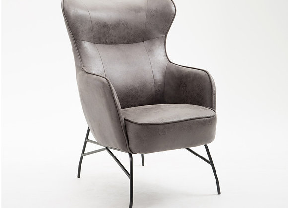 Franky Accent Chair - Charcoal