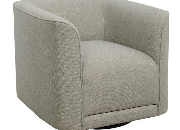 Whirlaway Swivel Accent Chair - Gray