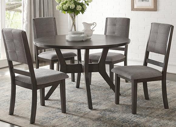 Nisky 5PC Dining Set - Gray