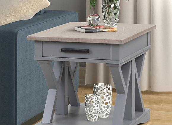 Americana Modern End Table - Dove