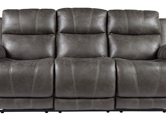 Erlangen Power Reclining Sofa w/ HDRST - Midnight