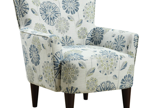 Flower Power Occasional Chair - Teal