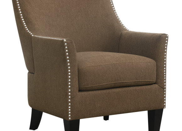 Kismet Accent Chair - Brown