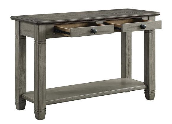Granby Sofa Table - Gray/Brown