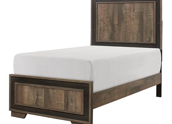 Ellendale Twin Bed - 2 Tone