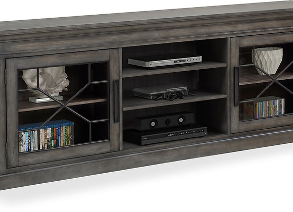 Sundance 92 Inch TV Console - Smokey Gray
