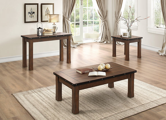 Schleiger Coffee Table - Burnished Brown