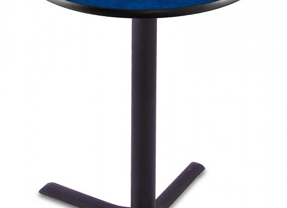 28 Inch Round/42 Inch High Pub Table - Black X Base