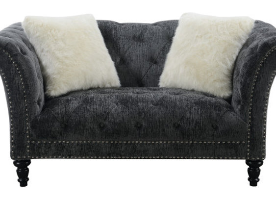 Hutton Tufted Love - Charcoal