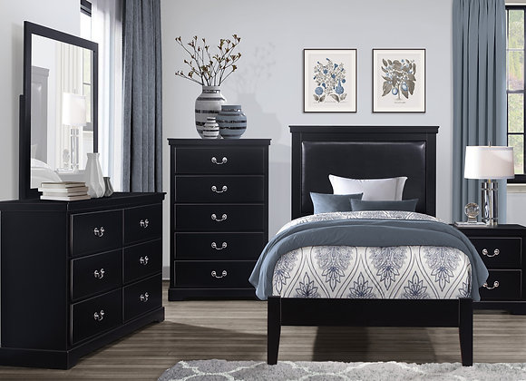 Seabright Youth Bedroom Collection - Black