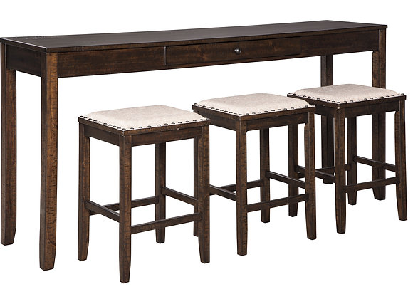 Rokane 4 Piece Theater Bar Set