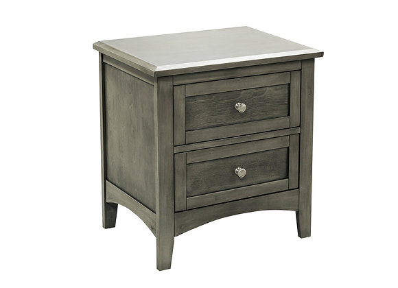 Garcia Nightstand - Gray