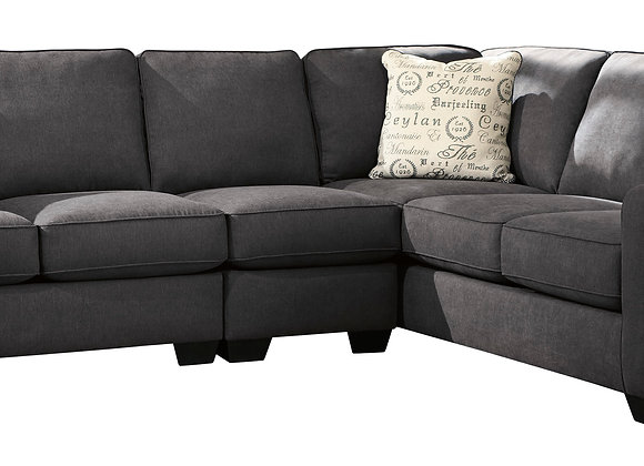 Alenya 3PC Large Sectional - Charcoal