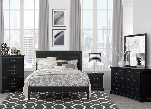 Seabright Bedroom Collection - Black