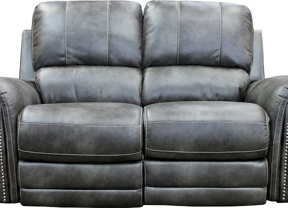 Belize Power Reclining Loveseat with PWR Headrest - Ash
