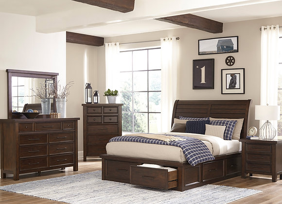 Logandale Bedroom Collection - Brown