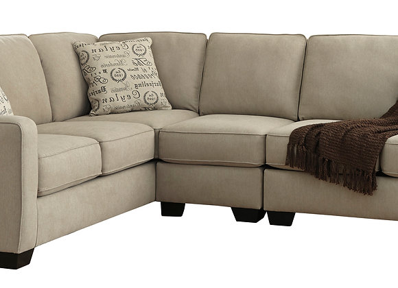 Alenya 3PC Large Sectional - Quartz
