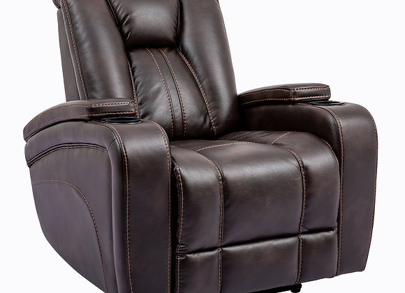 Optimus Power Recliner - Truffle Performance Fabric